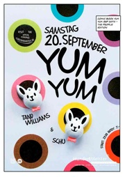 YUM YUM Comic Book Sep 20th