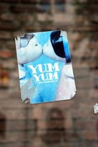 photo of yum yum sticker from flickr