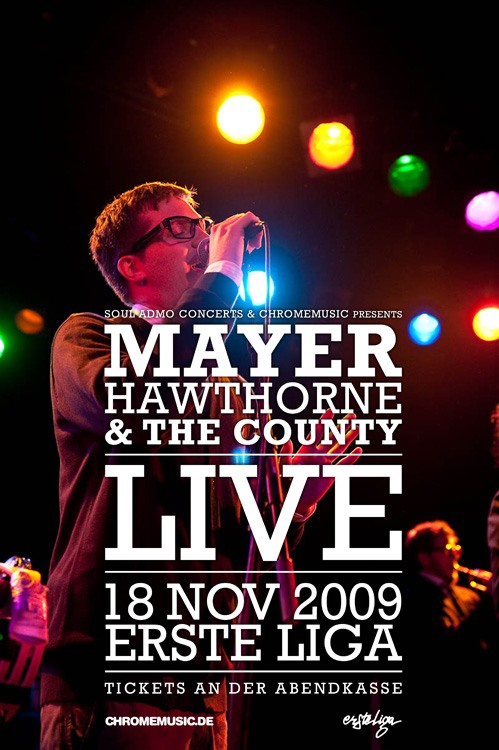 Mayer Hawthorne and The County Live at The Roxy