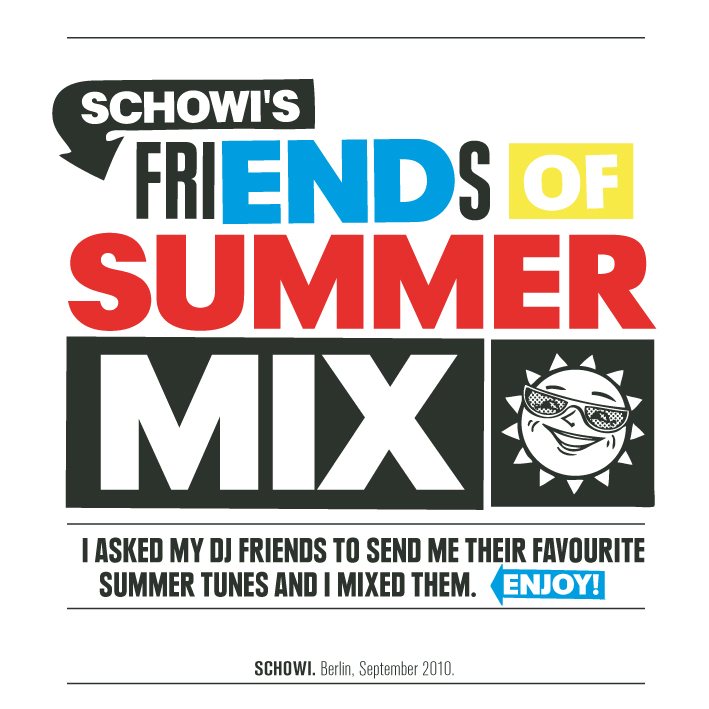 Schowi_friENDs_of_summer_mix_2010_cover