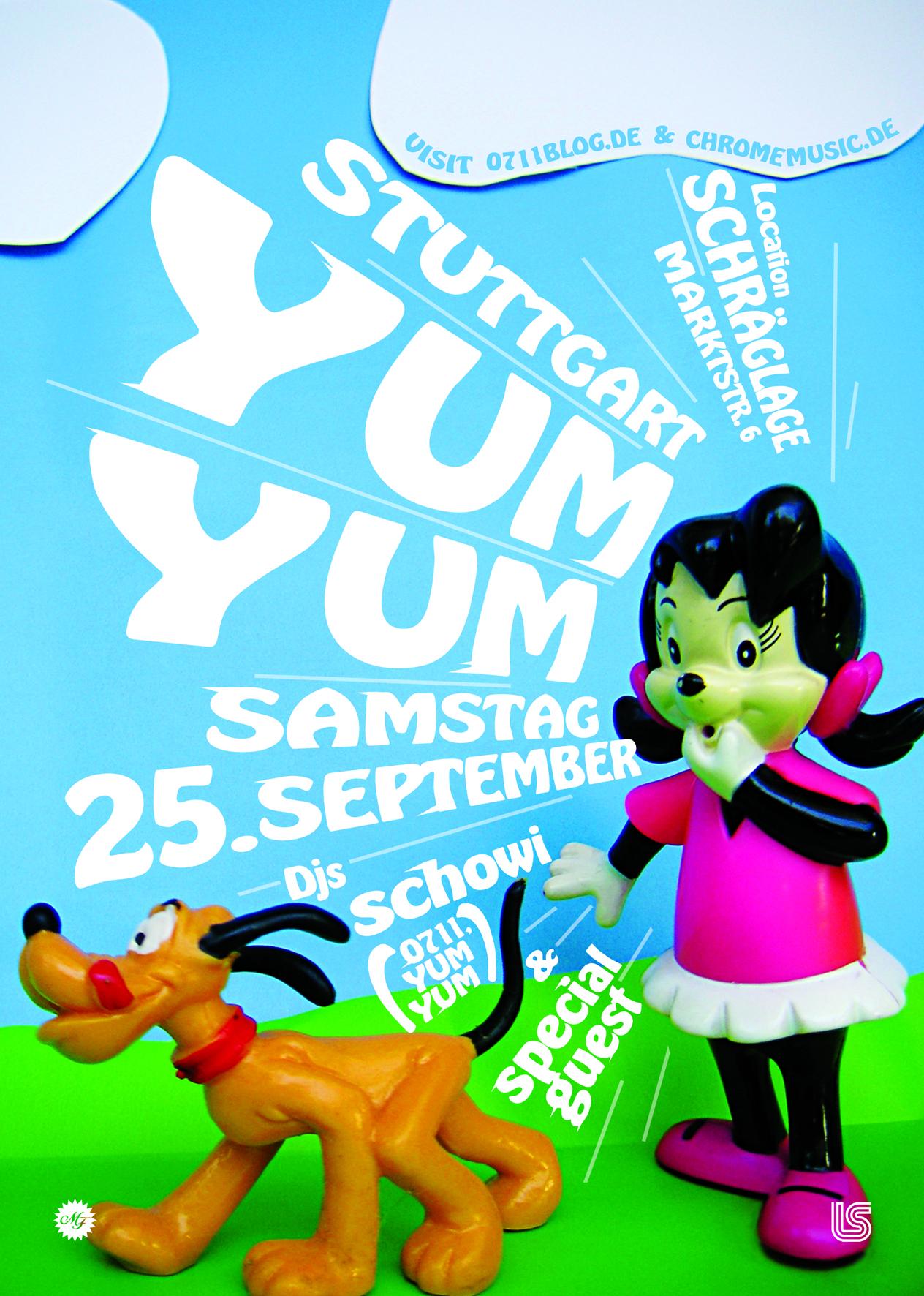 YUM YUM Stuttgart coming up this Saturday