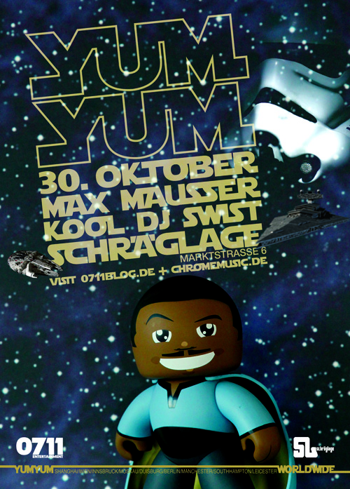 Saturday October 30th - YUM YUM Stuttgart