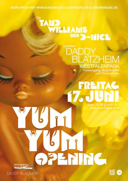 YUM YUM Dortmund Opening @ Daddy Blatzheim