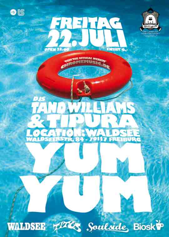 YUM YUM Freiburg Juli 2011 feat. Tand Williams & Tipura & Waldsee