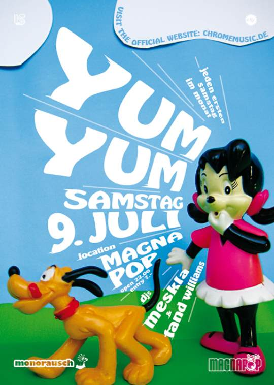 YUM YUM Krefeld Juli 2011 @ Magnapop ft. Tand Williams & Meskla