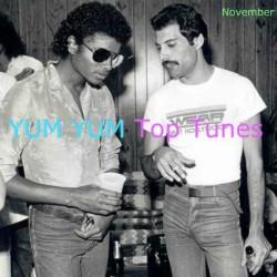 YUM YUM Top Tunes November