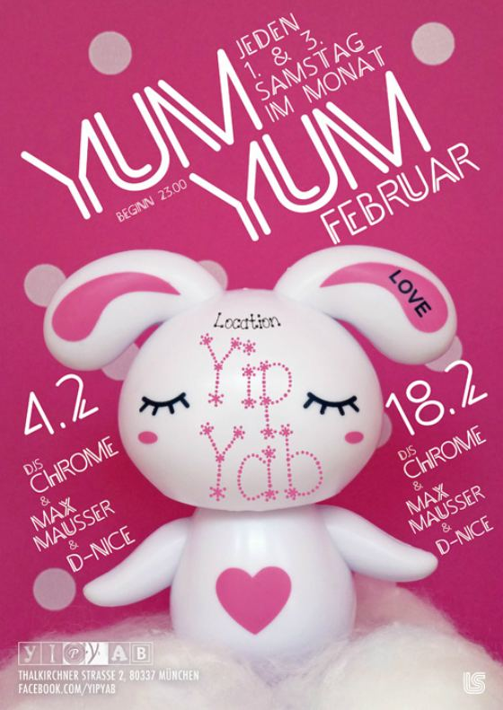 Thumbnail image for YUM YUM Munich, tonight @ Yip Yab
