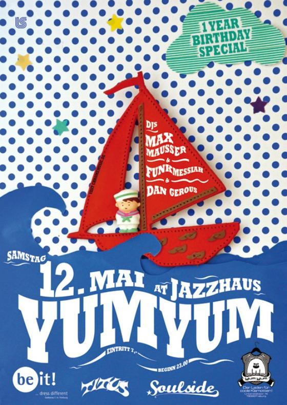 YUM YUM Freiburg - Saturday, May 12th 2012